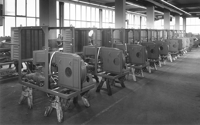 GRANIFRIGOR™ series at SULZER-ESCHER-WYSS in Lindau approx. 1970